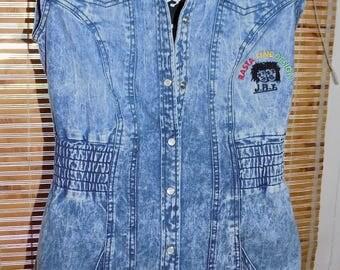 RASTALINEJRT JEAN DRESS
