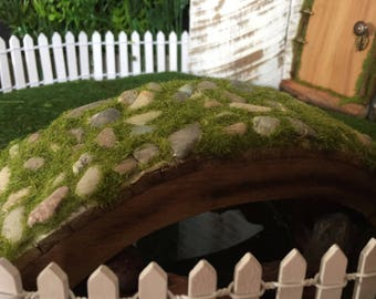 Fairy Garden Cobblstone Bridge