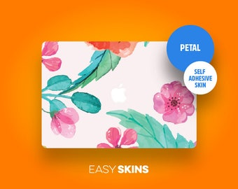 Petal Skin - MacBook Pro Skin   MacBook Air Sticker   MacBook Decal   Laptop Decal   Laptop Sticker   Easy Skins