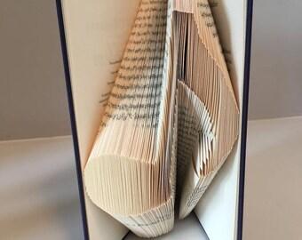 Music Note Book Fold Pattern