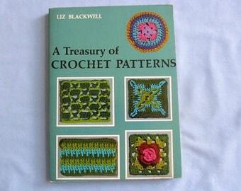 Book 'Treasury of Crochet Patterns', Hundreds of Stitch Patterns, First Ed. 1971