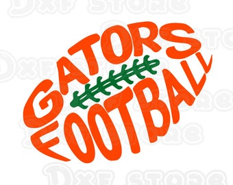 Gators,florida gators,football,college team SVG,DXF,PNG for use with Silhouette Studio and Cricut Design Space