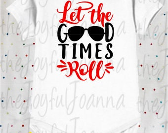 Let the Good Times Roll Onesie
