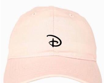 Disney Hat - Disney Baseball Cap - Disney Baseball Hat - Disney Mickey Hat - Mickey Ears - Disney Ears - Magic Kingdom Hat - Disney Logo Hat