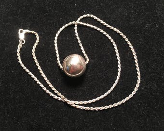 925 sterling silver charm necklace