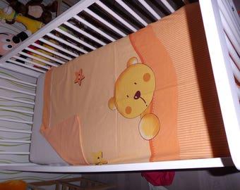 "baby girl or child's duvet cover ""cub"""
