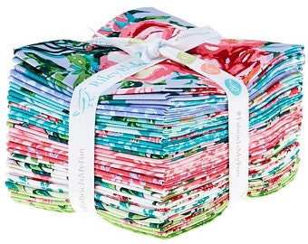 Berkshire Garden Fat Quarter Bundle by Lila Tueller for Riley Blake Designs, containing 18 fat quarters
