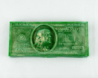 Hundred dollars silicone mold silicone mould soap mold candle mold