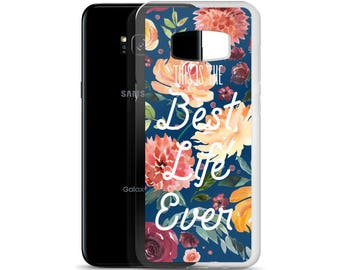 JW Samsung Case, Best Life Ever, JW Gift, Galaxy S8+ JW Phone Case, Pioneer Gift, Baptism Gift, Jehovah