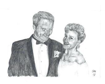 CUSTOM Couple & Individual Portrait Drawings