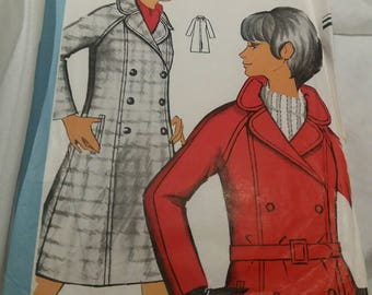 vintage echo fashion coat pattern