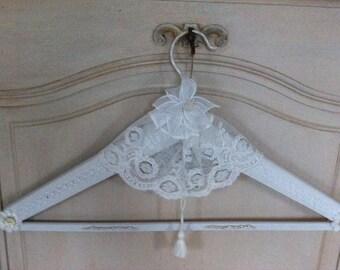 Vintage hanger shabby chic wooden coat rack