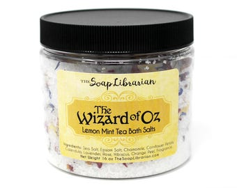 The Wizard of Oz Bath Salts - Reader Gift - Bath Soak