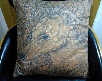 Greyhound Cushion