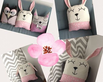Fantin, very cuddly Bunny pillow