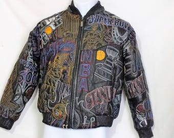 Vilanto multi sport leather jacket youth size XL. Very rare. Genuine leather.