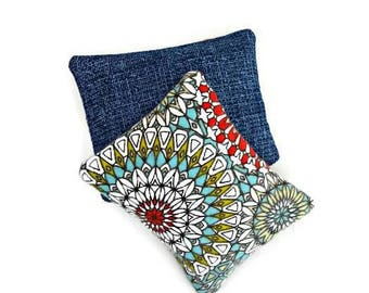 Handwarmers, Cooling pad, Reusable rice bag, Pocket warmers, Microwaveable rice warmers, Stocking Stuffers, Gifts under 5, Care Package idea