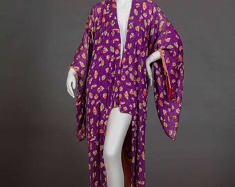 Vintage Kimono Robe
