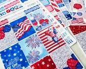 Stars, Stripes, Sparkle | A la Carte | Planner stickers for Erin Condren/ Happy Planner/ A5/ Personal etc Planners