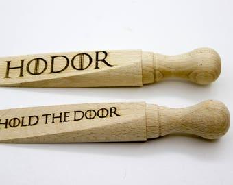 Hodor door stop - Hold the door - Game of Thrones