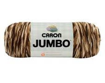 Caron® Jumbo™ Yarn  - Chocolate Variegated - 12 oz