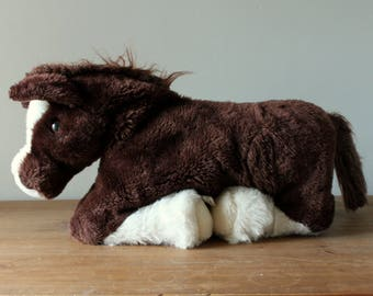 Country Critters Large Horse Hand Puppet, Full Body Plush Pony