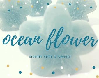 Ocean Flower Wax Melt, Wax Melt, Wax Tart, Home Fragrance