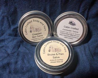 Organic Healing Salves