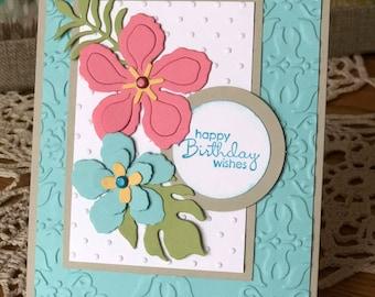 Birthday Card - SU! Botanicals