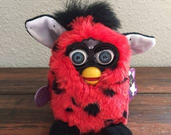 Furby Red and Black Polkadots/ Tiger Model 70-800