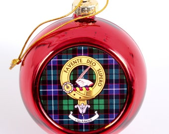 Clan Crest Christmas Bauble