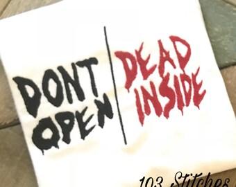 Walking Dead-Dont Open/Dead Inside