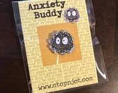 Anxiety Buddy Enamel Pin