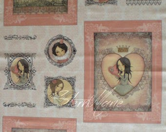 "Mirabelle ""all for love"" Panel"