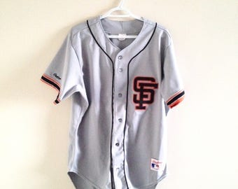 San Francisco Giants Vintage Rawlings Authentic Baseball Jersey