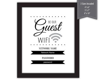 exetel how to set password for guest