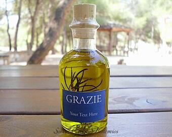 75 pcs Italian Style Olive Oil Favors (70ml/ 2.4oz), Olive Oil Wedding Favors, Olive Oil Baby Shower Favors, Olive Oil Bridal Shower Favors