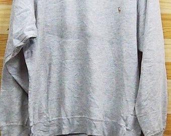 SALE  Polo RL Small Logo L size Sweatshirt Free Shipping Next Item