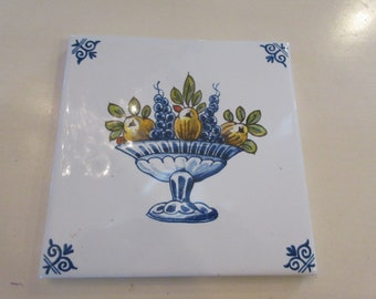 HOLLAND DELFTWARE TILE
