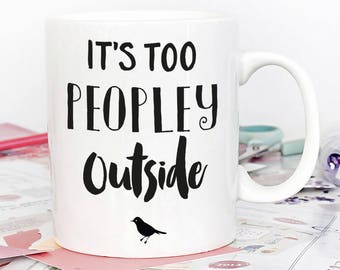 Introvert Funny Coffee Mug, funny gift, gift for wife, gift for sister, gift for her, inspirational mug, funny coffee mugs, funny mugs