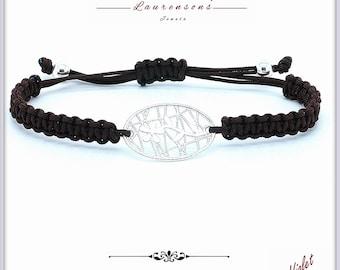 925 Sterling Silver Bracelet | Violet