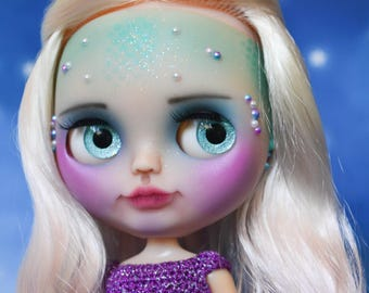 Ooak Custom Factory Blythe Doll, Shelley.