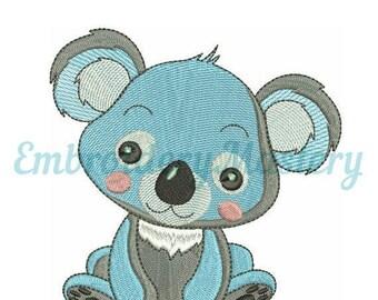 Incredible SALE!!! Koala. Machine Embroidery Design.