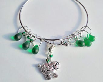Stitch Marker Bracelet knitting set