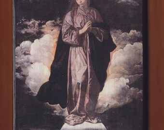 Diego Velazquez, Virgin Mary, The Immaculate Conception, 1618.FREE SHIPPING