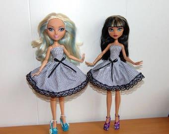 Dress Puppet, Monster High, Clothes Monster High, Shoes Monster High, Clothes for dolls, Shoes for Dolls, Summer Dress