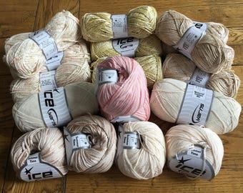 Mixed Ice Yarn, Wool, Knitting Wool, Weaving Yarn, Ice Yarn, Ice Yarns