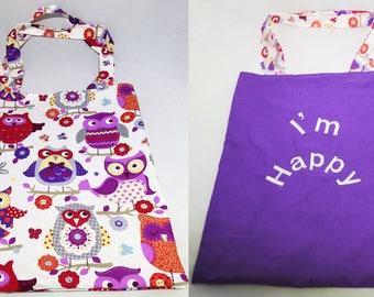 Bag, Tote Bag reversible Tote shopping bag
