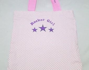 Tote Bag stars Rocker Girl
