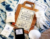 Natural Indigo Shibori Dye Kit from The Wild Dyery
